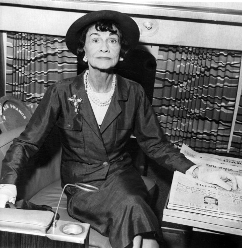 Na snímke Coco Chanel