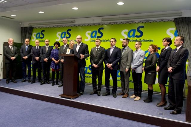 SaS: Slovensko by nemalo stiahnuť žalobu na kvóty