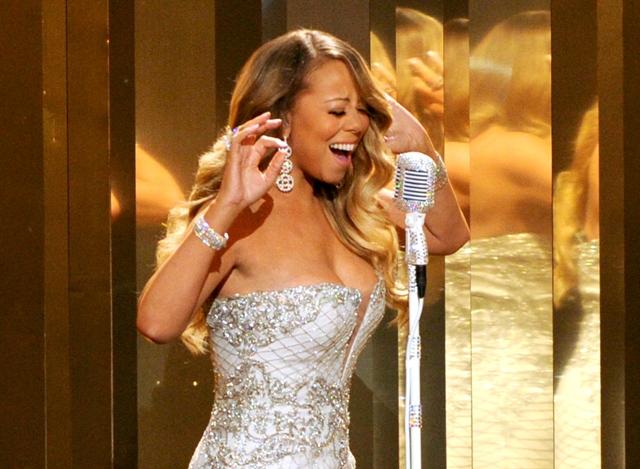 Na snímke americký speváčka Mariah Carey
