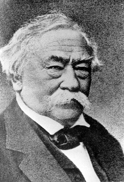 Na snímke Jozef Maximilian Petzval