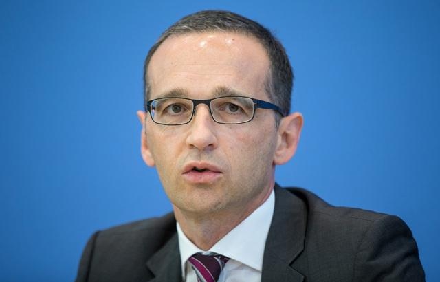 Na snímke nemecký minister spravodlivosti  Heiko Maas