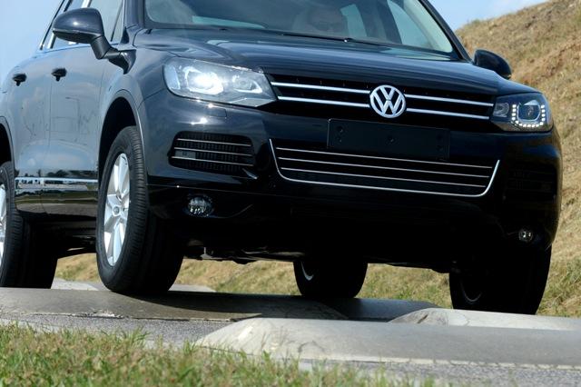 Na ilustračnej snímke vozidlo VW Touareg