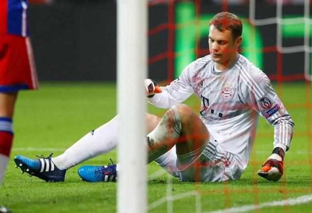Na snímke brankár Manuel Neuer