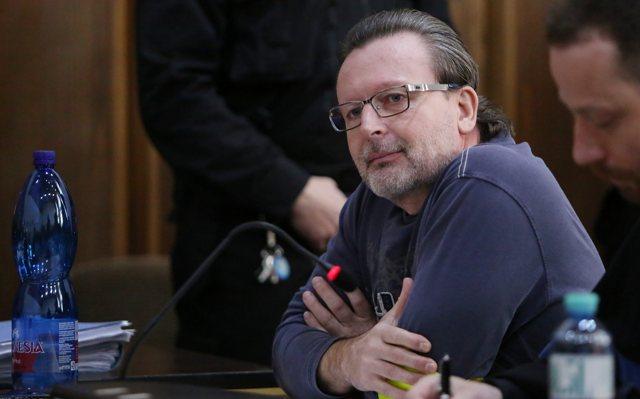 Na snímke obžalovaný Róbert L. (prezývaný Kýbel)