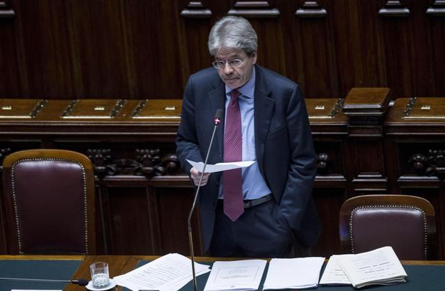 Na snímke taliansky minister zahraničných vecí Paolo Gentiloni