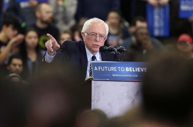 Senátor za štát Vermont Bernie Sanders