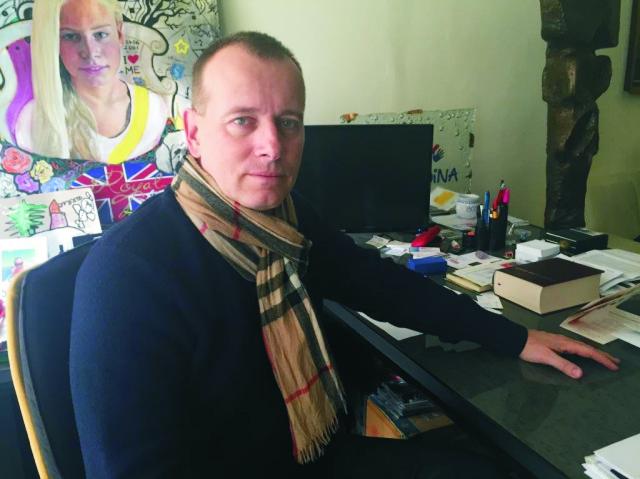 Na snímke predseda politickej strany Sme rodina Boris Kollár