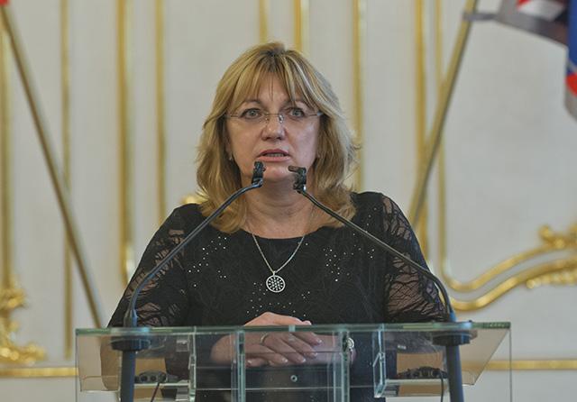 Predsedníčka Súdnej rady SR Jana Bajánková