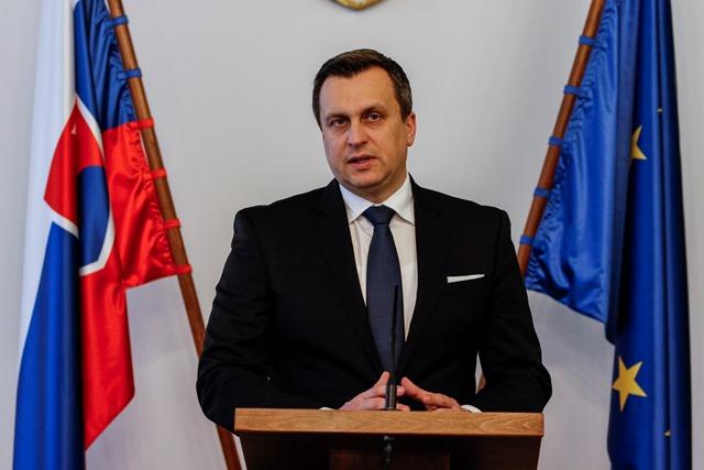 Na snímke novozvolený predseda NRSR Andrej Danko (SNS)