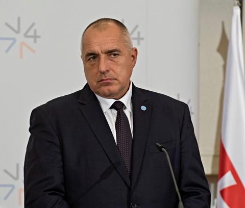 Na snímke predseda vlády Bulharska Bojko Borisov