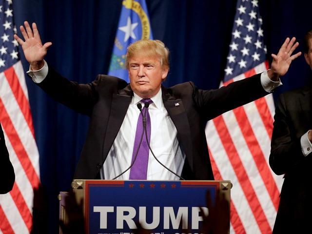Na snímke republikánsky kandidát na post amerického prezidenta Donald Trump