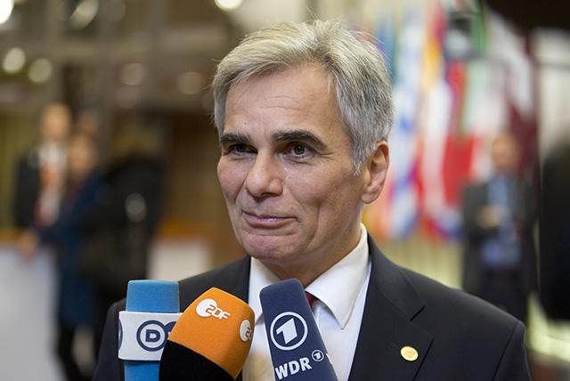 Rakúsky kancelár Werner Faymann