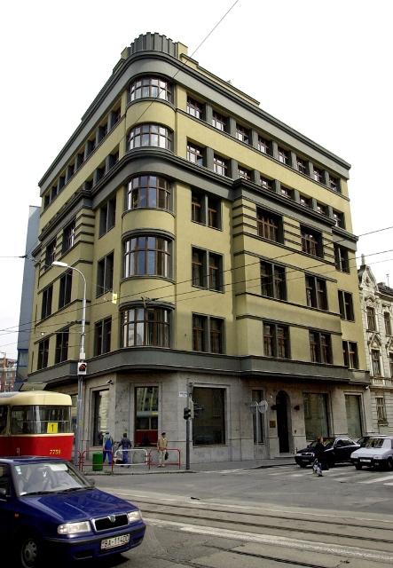 Na snímke budova Eximbanky