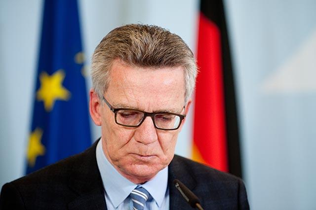 Nemecký minister vnútra Thomas de Maiziere