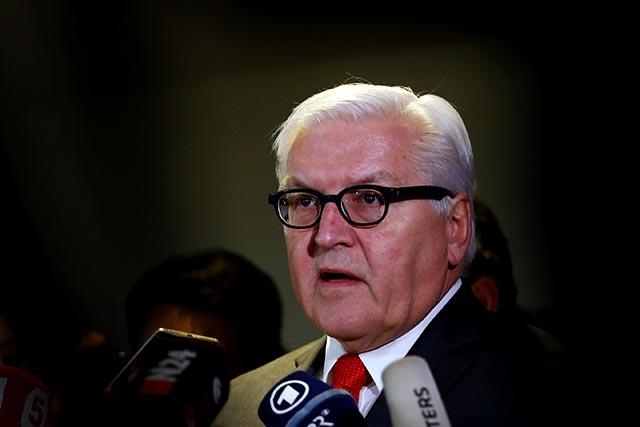 Šéf nemeckej diplomacie Frank-Walter Steinmeier