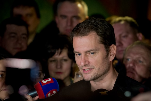 Na snímke líder hnutia OĽANO-NOVA Igor Matovič
