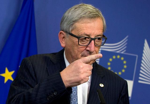 Na snímke predseda Európskej komisie Jean-Claude Juncker