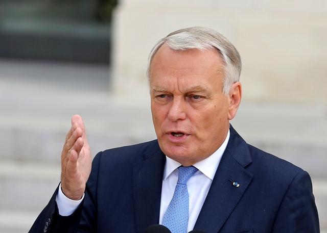 Na snímke francúzsky minister zahraničných vecí Jean-Marc Ayrault