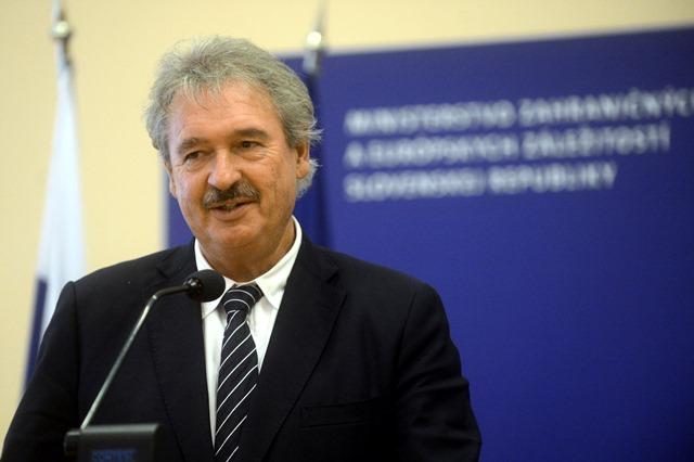 Na snímke minister zahraničných vecí a európskych záležitostí Luxemburska Jean Asselborn