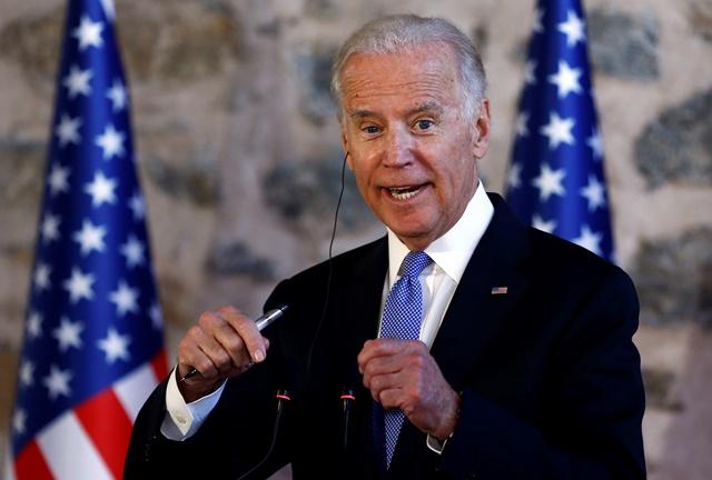 Na snímke americký viceprezident Joe Biden