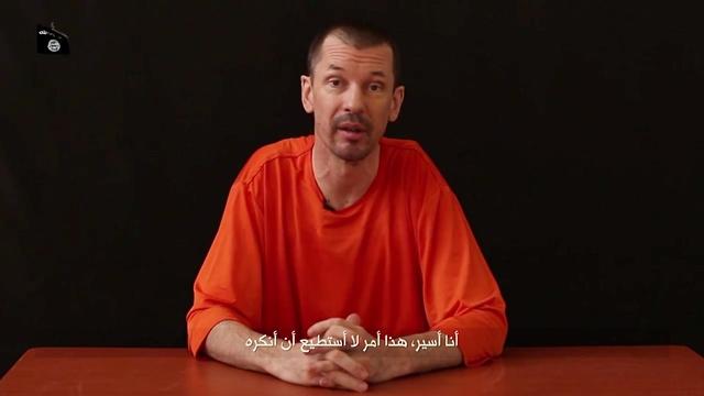 Na snímke John Cantlie