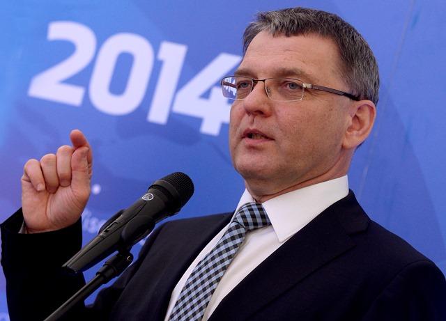 Na snímke minister zahraničných vecí ČR Lubomír Zaorálek