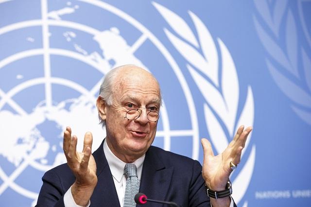 Osobitný vyslanec OSN pre Sýriu Staffan de Mistura
