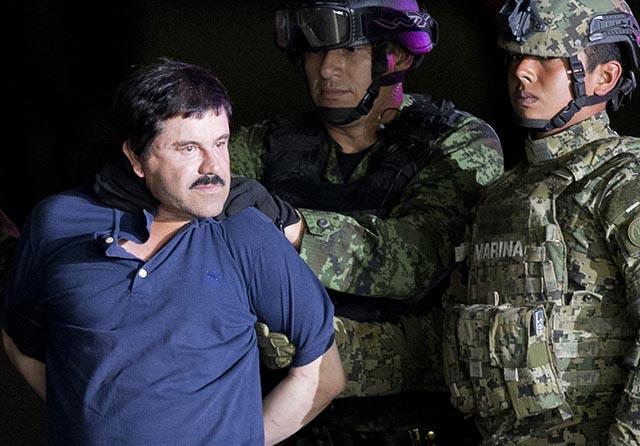 """drogový narkobarón Joaquín """"El Chapo"""" Guzmán Krpec"""