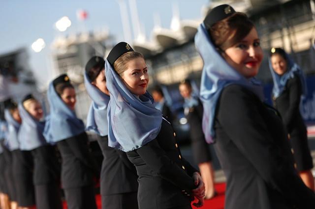 Letušky v arabských krajinách. Ilustračné foto