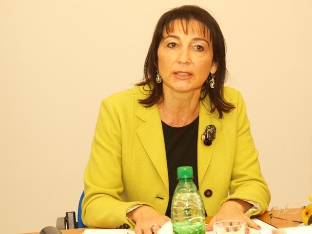 Na snímke predsedníčka Úradu pre dohľad nad zdravotnou starostlivosťou Monika Pažinková