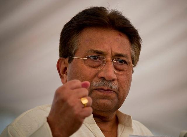 Na snímke bývalý pakistansky prezident Parvíz Mušarraf