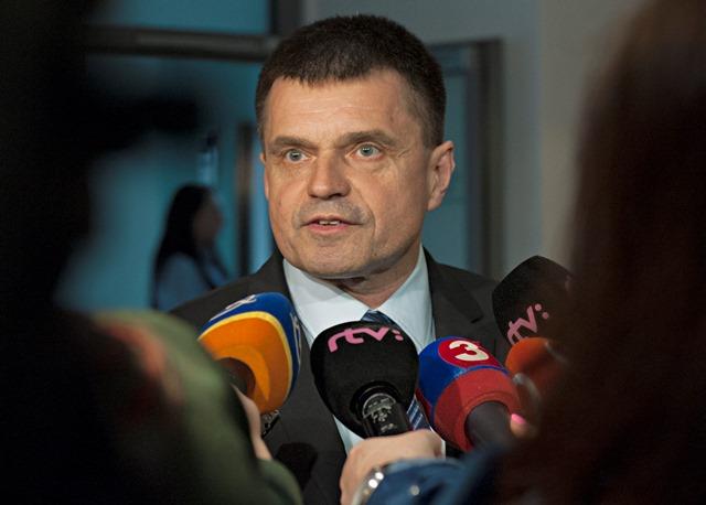 Na snímke nový minister školstva Peter Plavčan