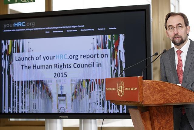 Vysoký komisár OSN pre utečencov Zeid Raad al-Hussein