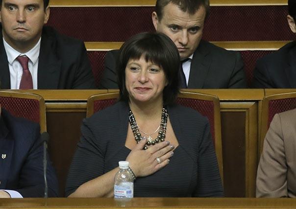 Ukrajinská ministerka financií Natalie Jaresková