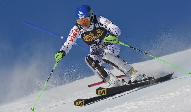 Na snímke slovenská lyžiarka Veronika Velez- Zuzulová