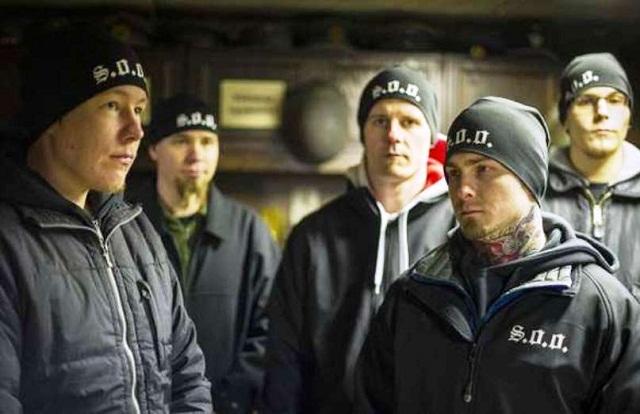 Na snímke Vojaci Odina