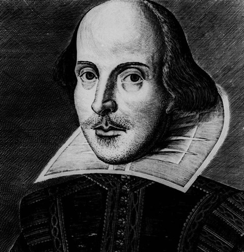 Na snímke William Shakespeare