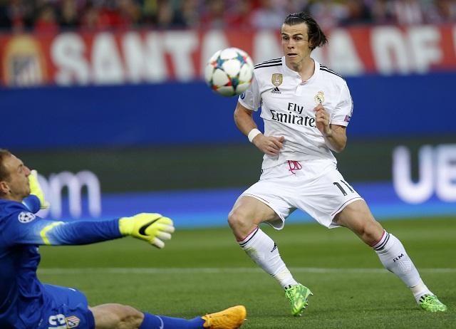 Na snímke hráč Realu Madrid Gareth Bale