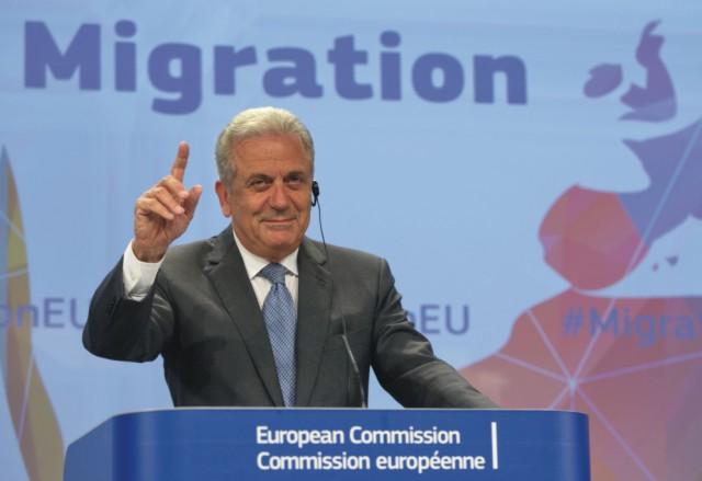 Eurokomisár pre migráciu, vnútorné veci a občianstvo Dimitris Avramopulos