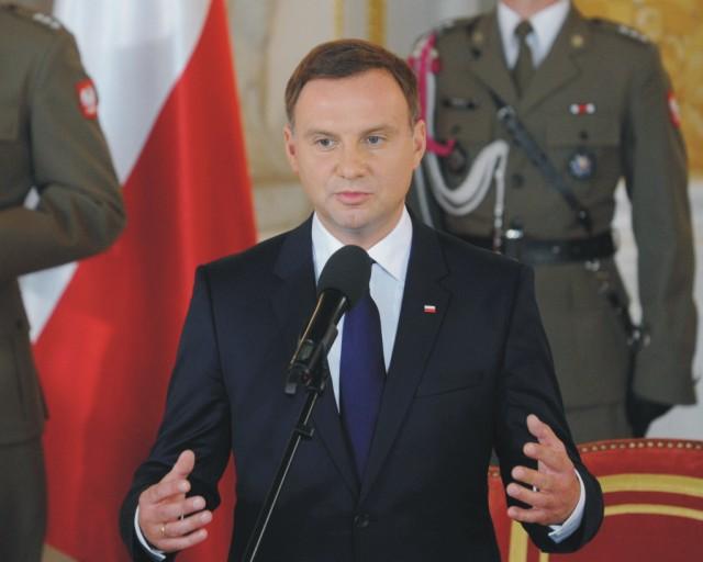 Poľský prezident Andrzej Duda