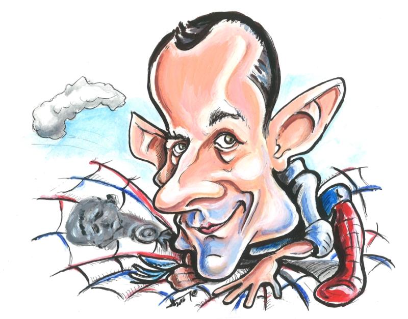 Karikatúra Jara Slabeja