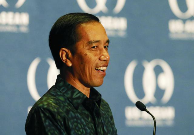Indonézsky prezident Joko Widodo