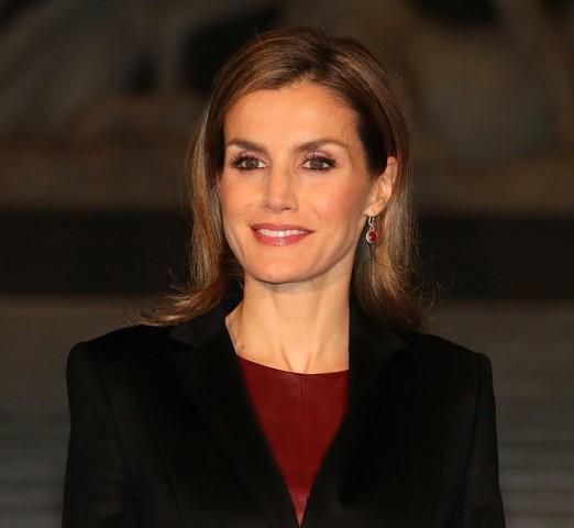 Na snímke španielska kráľovná Letizia