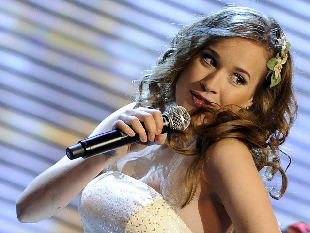 Na archívnej snímke speváčka Kristína (vlastným menom Kristina Pelaková)