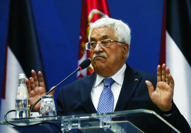 Palestínsky prezident Mahmúd Abbás