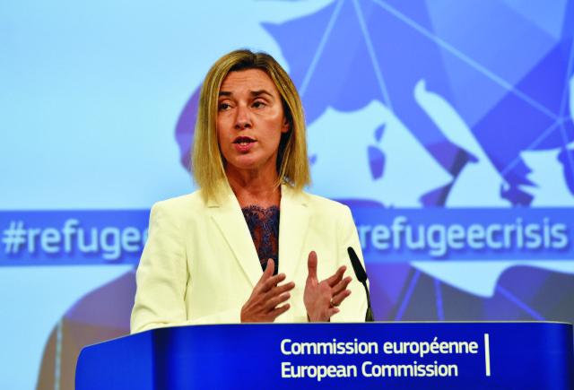 Šéfka európskej diplomacie Federica Mogheriniová