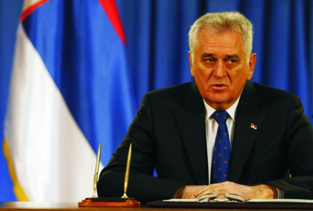 Srbský prezident Tomislav Nikolič