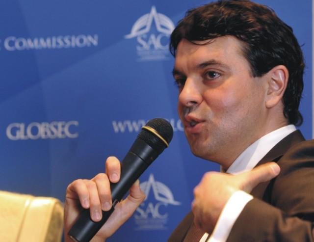 Macedónsky minister zahraničných vecí Nikola Poposki