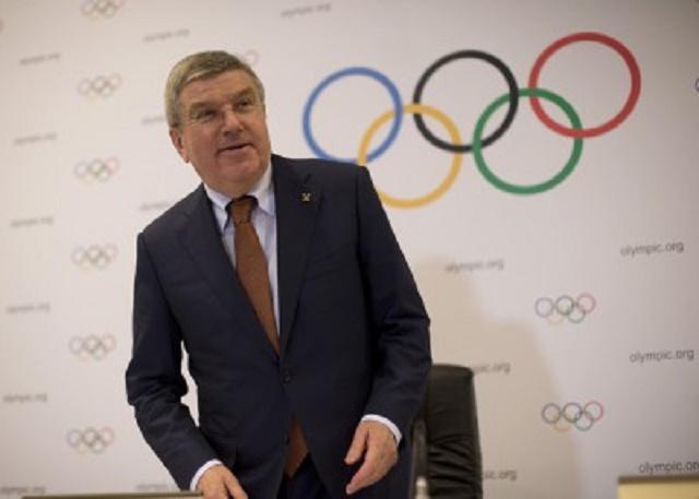 Predseda Medzinárodného olympijského výboru Thomas Bach