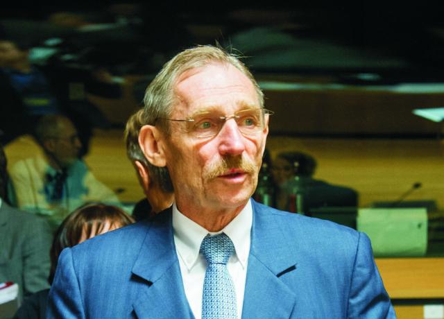 Maďarský minister vnútra Sándor Pintér